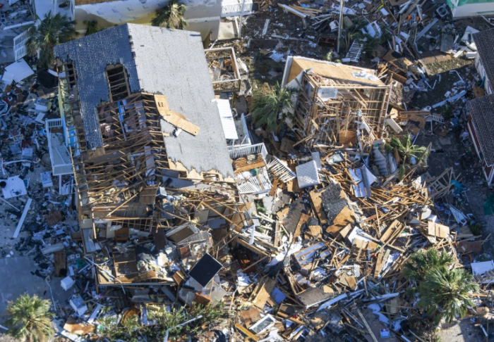 Hurricane Michael death toll hits 17 - PHOTO