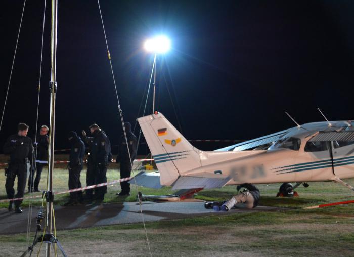 Cessna-Crash in Hessen beschäftigt Ermittler