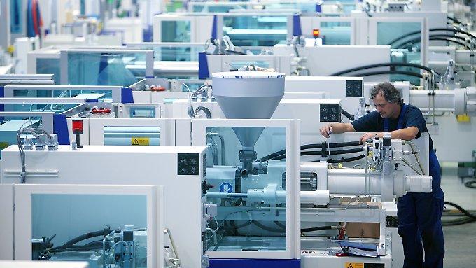 Maschinenbau hat Produktivitätsprobleme