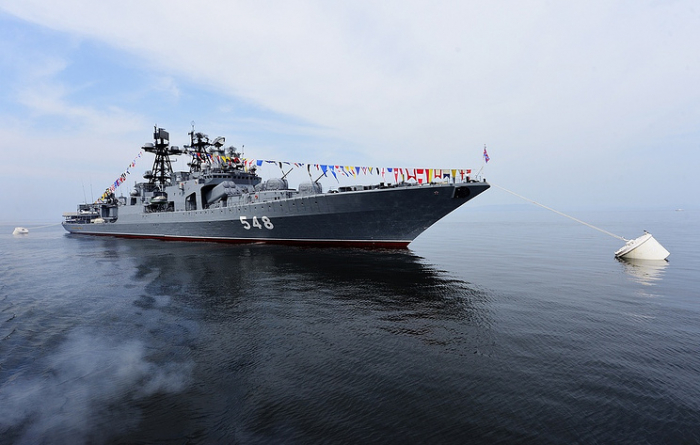 Russia's Pacific Fleet wraps up visit to South Korea