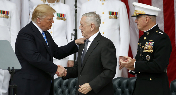 Trump comenta el posible retiro de James Mattis