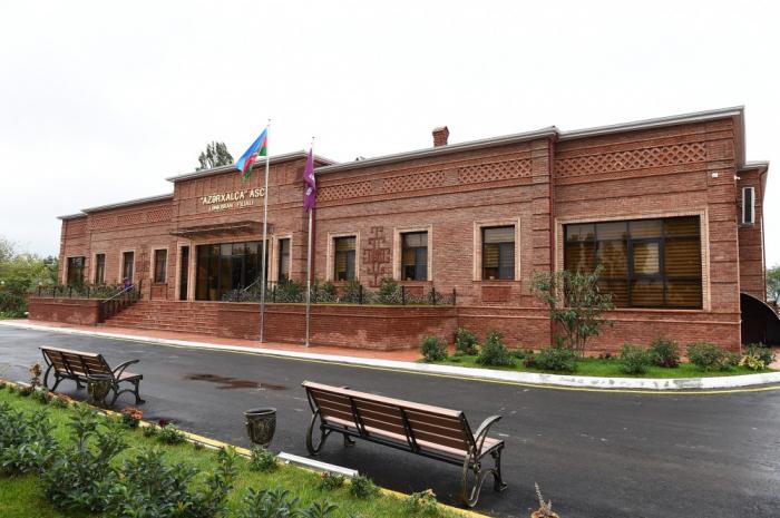 """Filiale der Teppichfabrik von """"Azerkhalcha"""" in Lenkoran eröffnet"""
