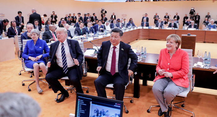 Erpressung: Die EU muss sich entscheiden zwischen China und den USA
