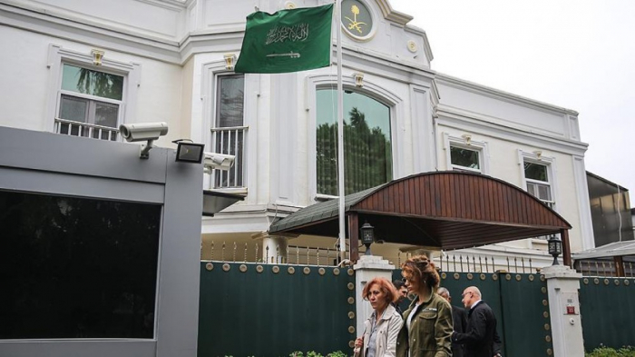 Səudiyyə konsulunun iqamətgahında axtarış aparılır