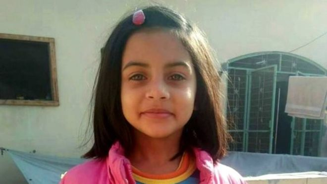 Pakistan hangs 6-year-old Zainab