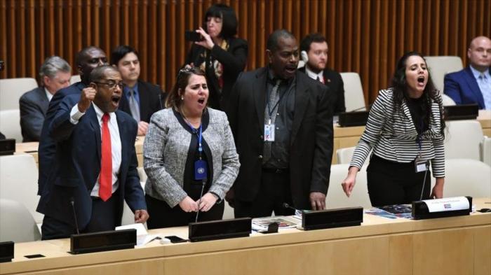 Cuba enfrenta en la ONU la provocación de EEUU sobre DD.HH.