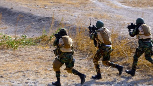 USA fliegen Luftangriffe auf as-Shabaab