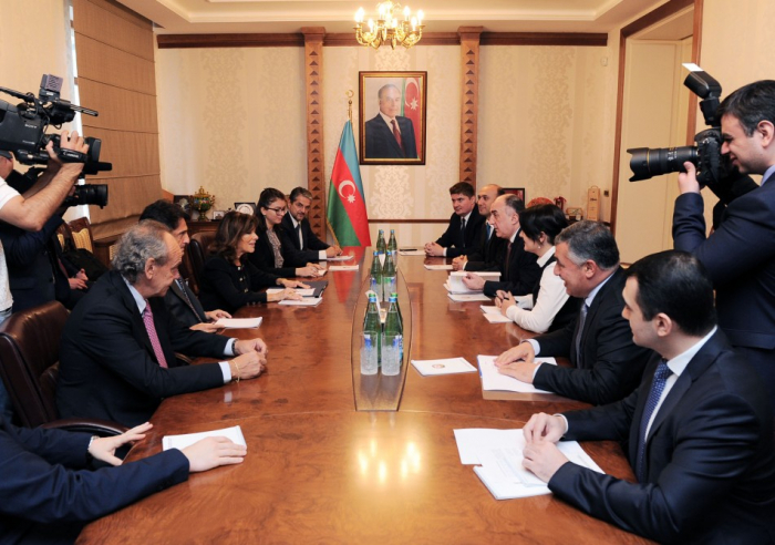 L'Azerbaïdjan et l'Italie discutent des perspectives de développement de leurs relations