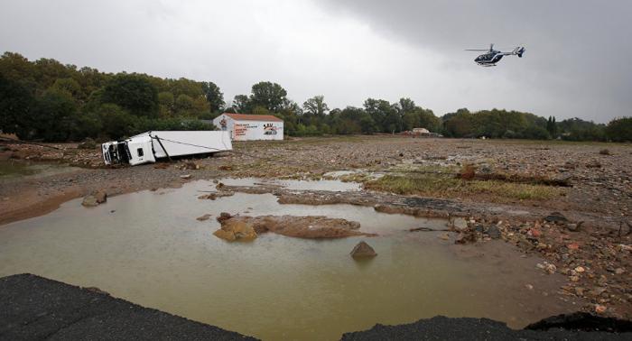 Francia declara el estado de catástrofe natural por las inundaciones