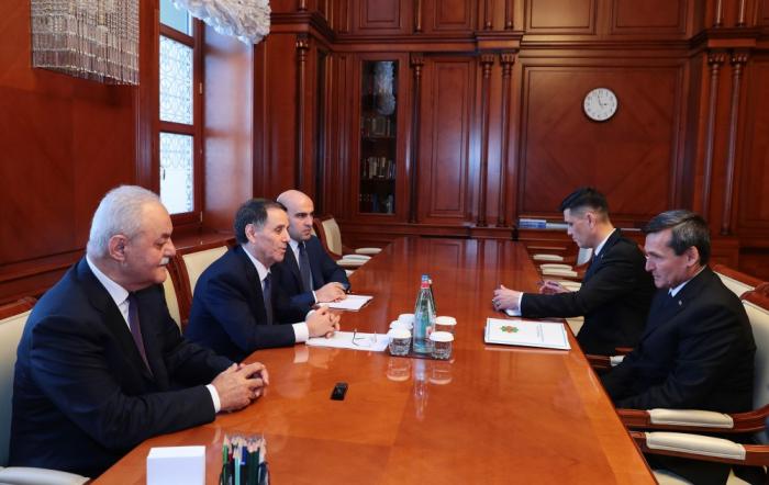 Aserbaidschans Premierminister trifft stellvertretenden Vorsitzenden des Ministerkabinetts von Turkmenistan