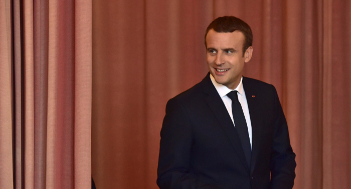 Macron espera que el acuerdo del Brexit se logre en las próximas semanas