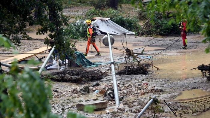 Campingplatz in Frankreichmuss nach Unwetter-Unglück schließen