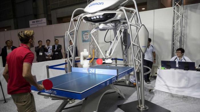 Últimas novedades de tecnología robótica se exhiben en Japón