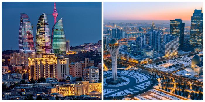 """Aserbaidschan und Kasachstan - """"Besten Orte zum Besuchen"""" - National Geographic"""