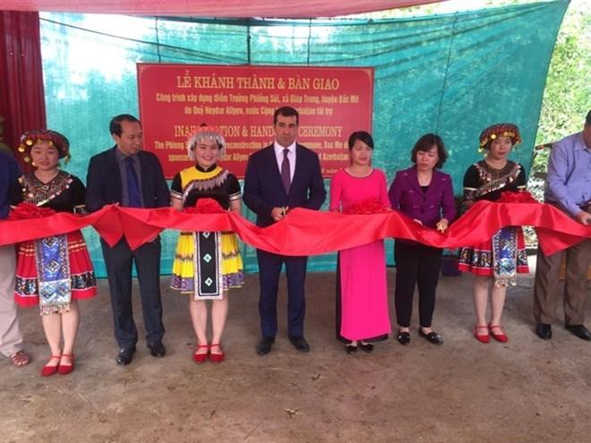 Inauguran escuela patrocinada por Azerbaiyán en provincia vietnamita de Ha Giang
