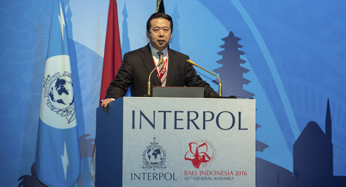 Former Interpol chief's wife fears her husband might be dead after detention