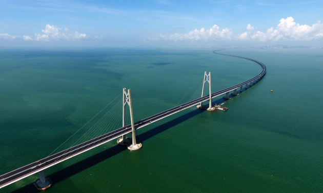 HK-Zhuhai-Macao Bridge to be officially open next week