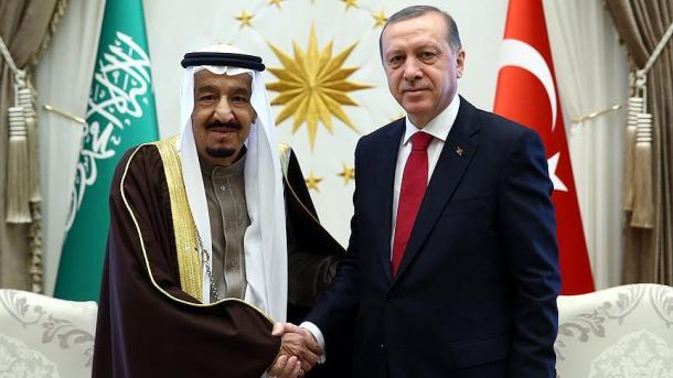 Erdogan telefoniert mit saudischem König