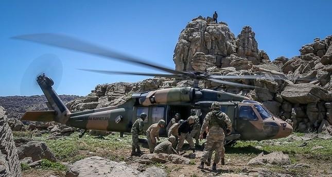 TSK: 33 PKK-Terroristen bei Anti-Terror-Operationen außer Gefecht gesetzt