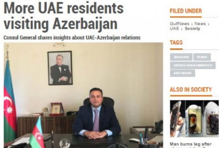 Azərbaycana gələn BƏƏ rezidentlərinin sayı iki dəfə artıb