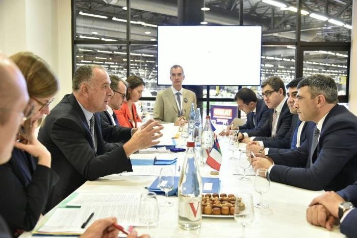 La France est intéressée par la coopération avec l'Azerbaïdjan en matière agricole