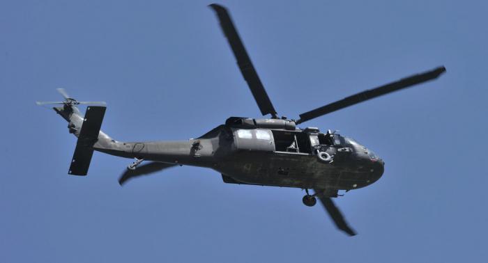 Cuatro fallecidos en Colombia al estrellarse un helicóptero militar
