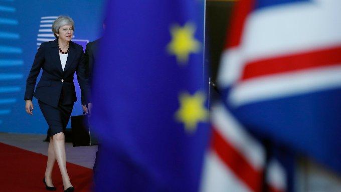 May: Austritt aus EU zu 95 Prozent geklärt