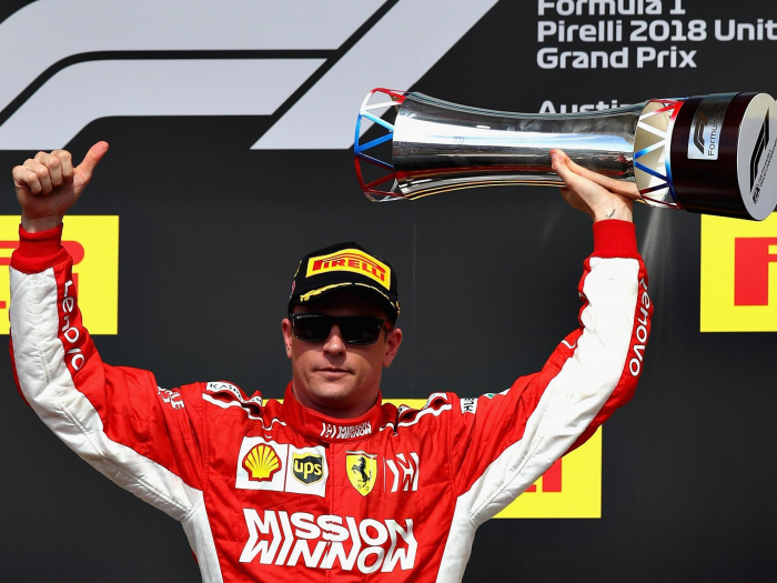 Raikkonen wins first race in over five years to deny Hamilton F1 title