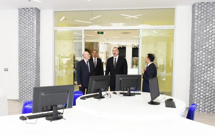 Ilham Aliyev inaugure le Complexe « Vie ASAN » à Imichli - PHOTOS