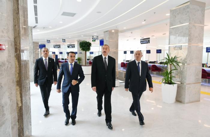 """Prezident İmişlidə """"ASAN Həyat"""" kompleksinin açılışında - FOTOLAR+VİDEO"""