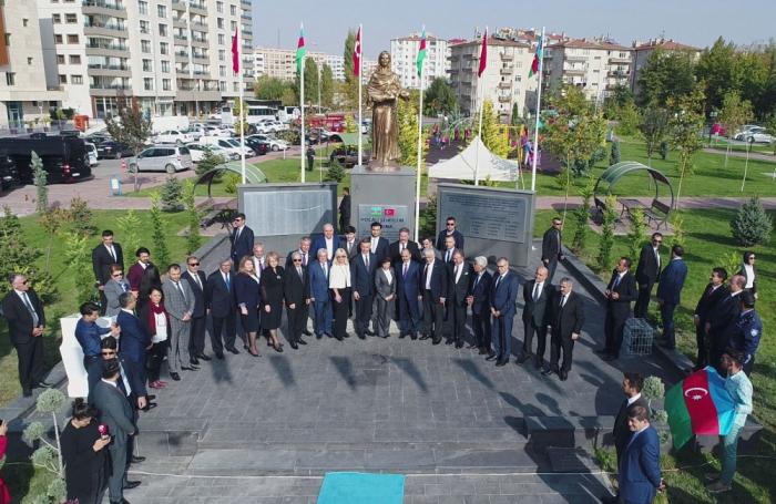 In Kayseri Chodschali Park und Gedenkstätte für Opfer des Völkermords von Chodschali eröffnet