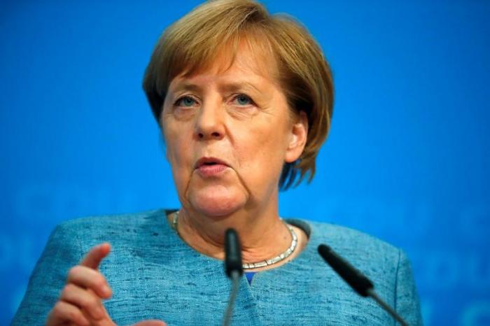 Merkel bekräftigt Stopp von Rüstungslieferungen an Saudis