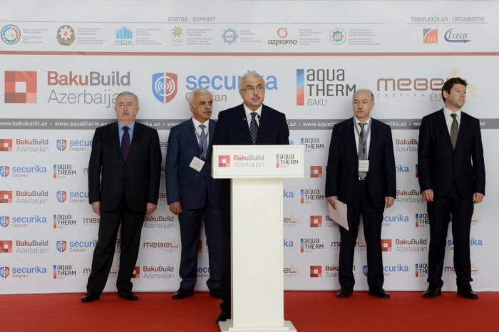 """XXIV. Aserbaidschanische Internationale Bauausstellung """"BakuBuild Aserbaidschan"""" in Baku"""