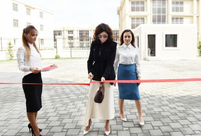 Mehriban Aliyeva participe à l'inauguration dunouveau bâtiment de l'école spéciale №11 à Bakou