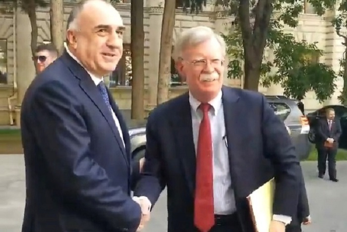 John Bolton arrives in Baku for officialvisit