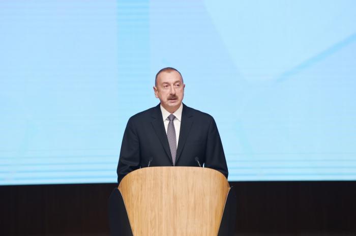 İlham Əliyevin beynəlxalq forumdakı çıxışı - TAM MƏTN