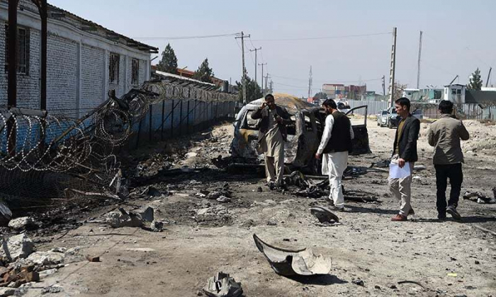 6 injured in suicide blast targeting Afghan Election Commission office in Kabul