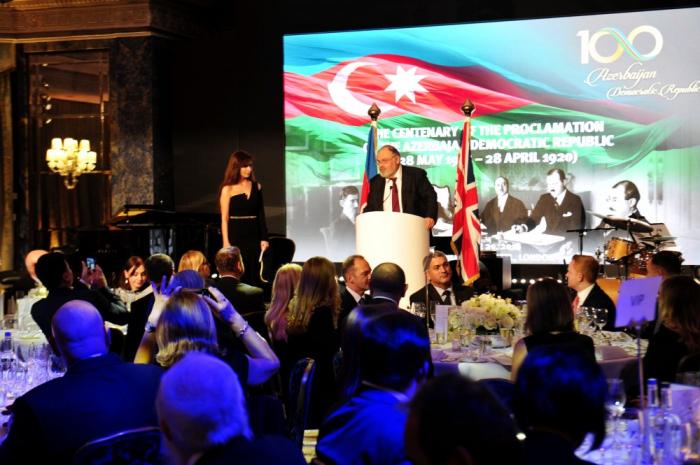 Le centenaire de la République démocratique d'Azerbaïdjan célébré à Londres