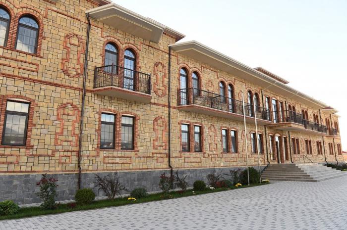 Şəkidə uşaq evinin yeni binası istifadəyə verilib - FOTOLAR