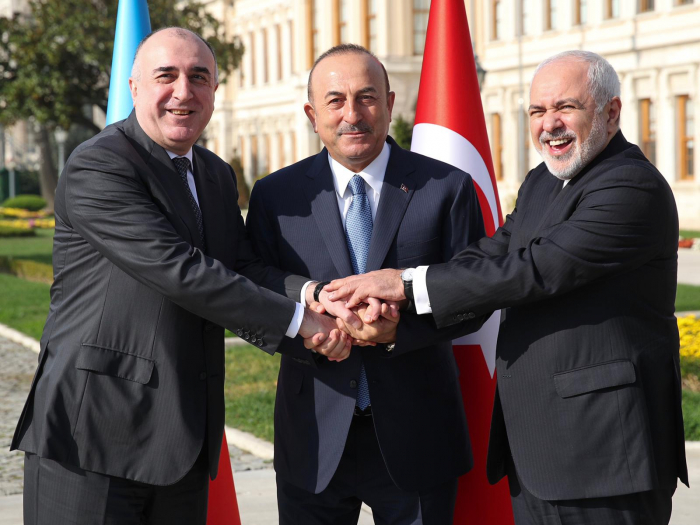 Istanbul hosts 6th trilateral meeting of Azerbaijani, Turkish, Iranian FMs