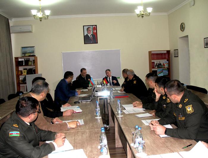 Scientific-practical seminar held at Azerbaijan War College