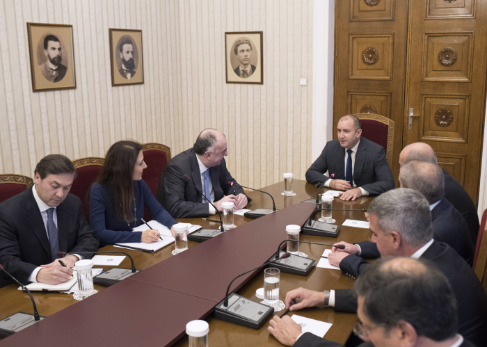 FM Mammadyarov meets with Bulgarian president