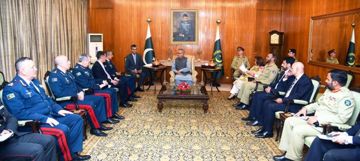 Präsident: Pakistan steht für eine weitere Vertiefung der Beziehungen mit Aserbaidschan in verschiedenen Bereichen