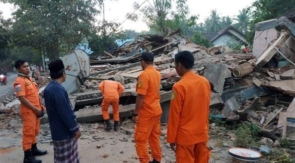 ارتفاع عدد قتلى زلزال أندونيسيا إلى 2113