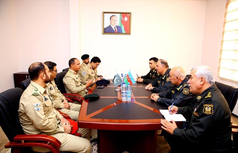 Pakistanın briqada generalı Bakıya gəlib - FOTO