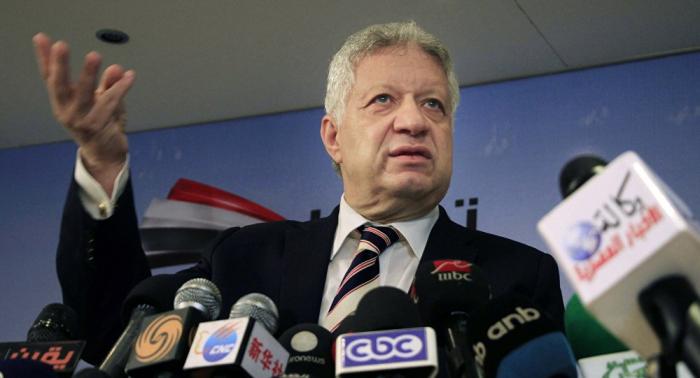 الأولمبية المصرية تستدعي رئيس الزمالك للتحقيق