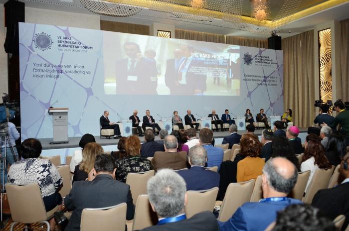 "3rd Plenary Session of Humanitarian Forum marks 10th anniversary of ""Baku Process"""