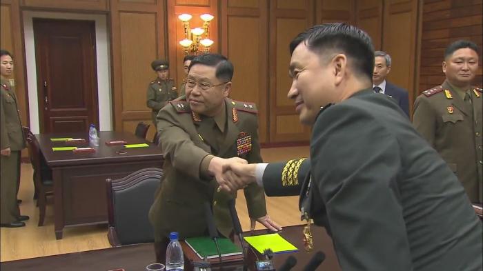 Seul və Pxenyan hərbi sahədə razılığa gəldi