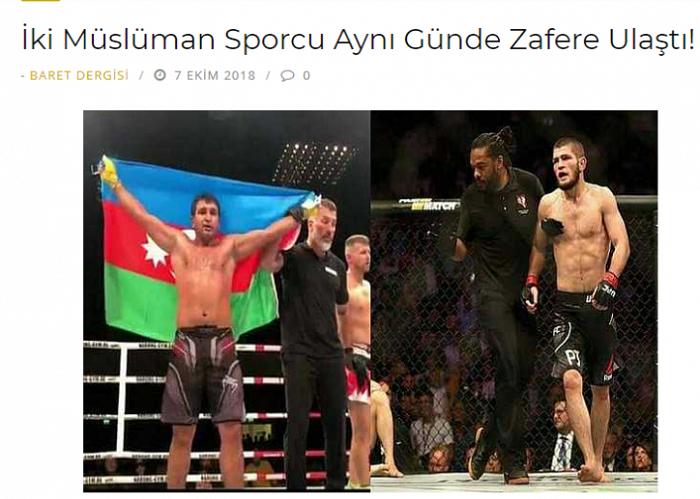 """Azərbaycan """"Tank""""ı və Həbib: Bir gündə iki möhtəşəm qələbə - FOTOLAR"""