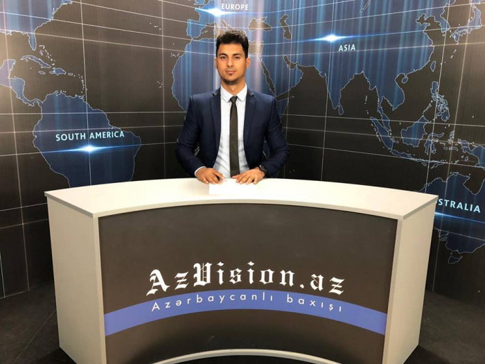AzVision TV releases new edition of news in German for October 8-VIDEO